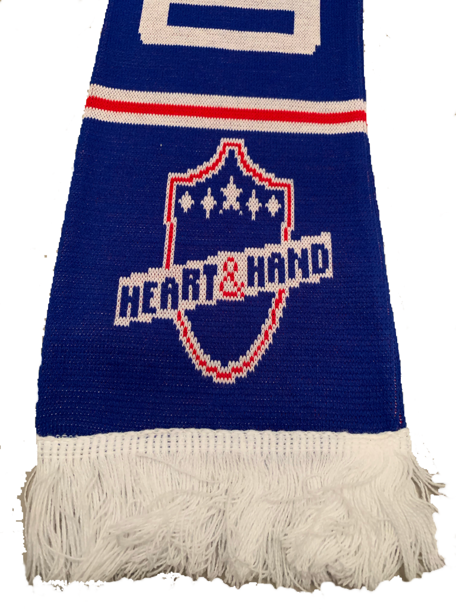 Heart and Hand Scarf