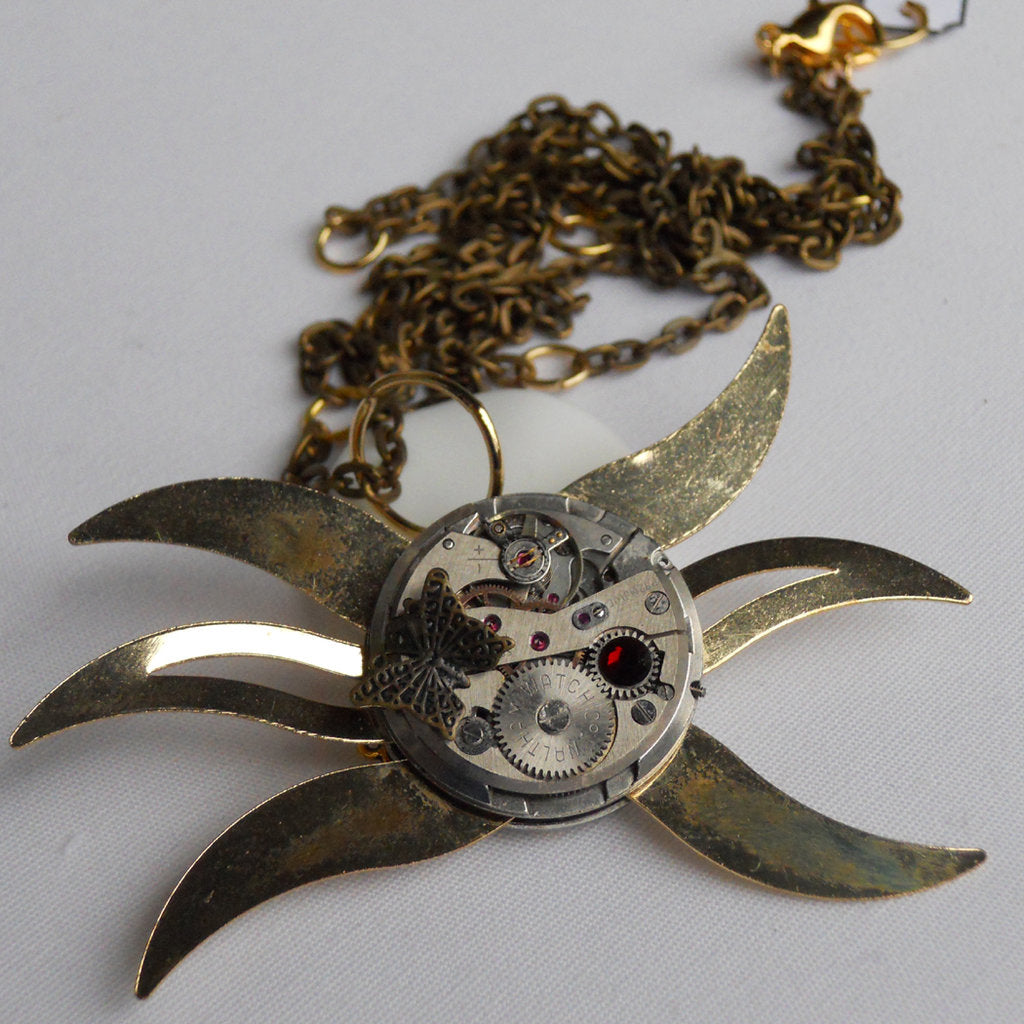 Ninja Star Necklace