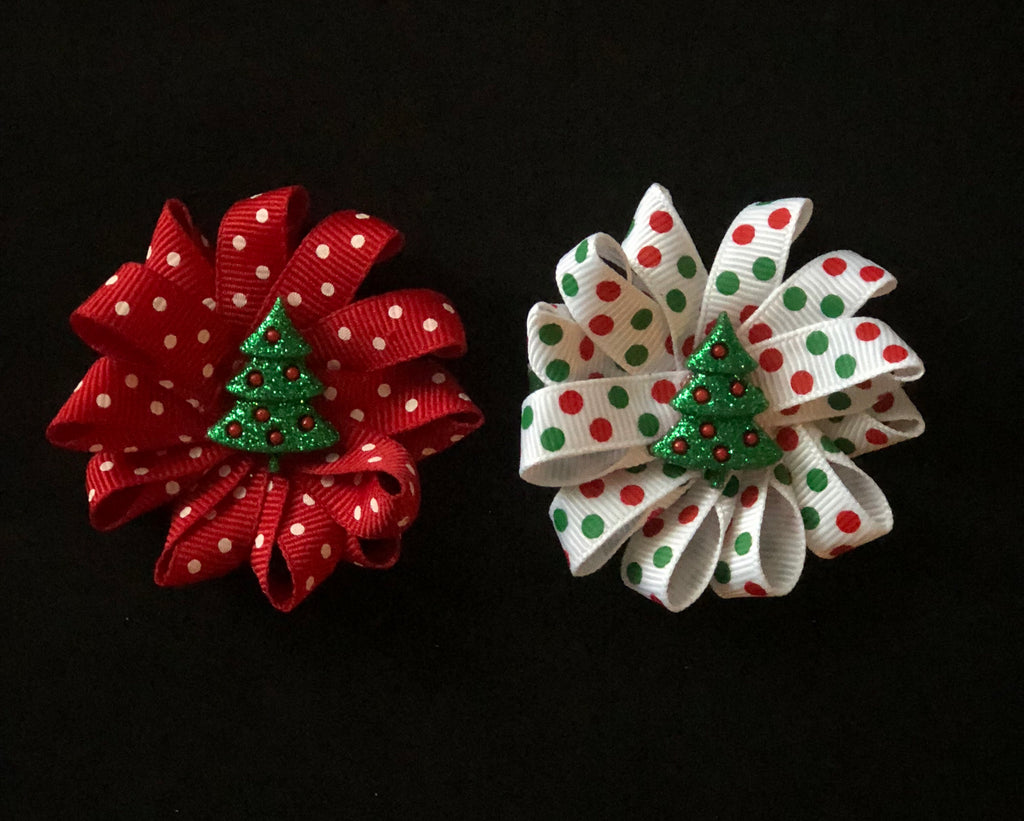 Christmas Tree HairFlowers