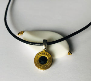 Recycled BulletBack Necklace