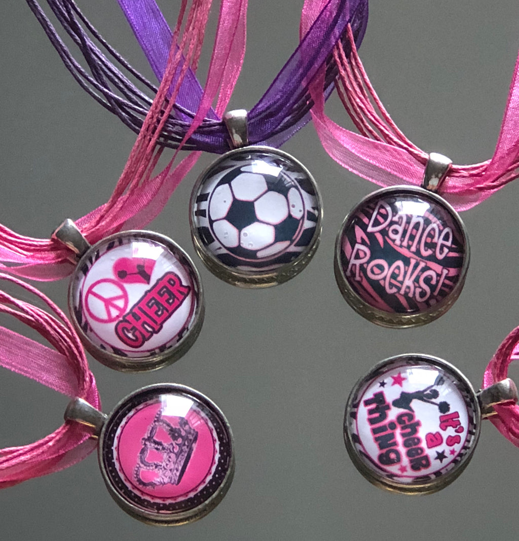 Activity Bottle Cap Necklaces