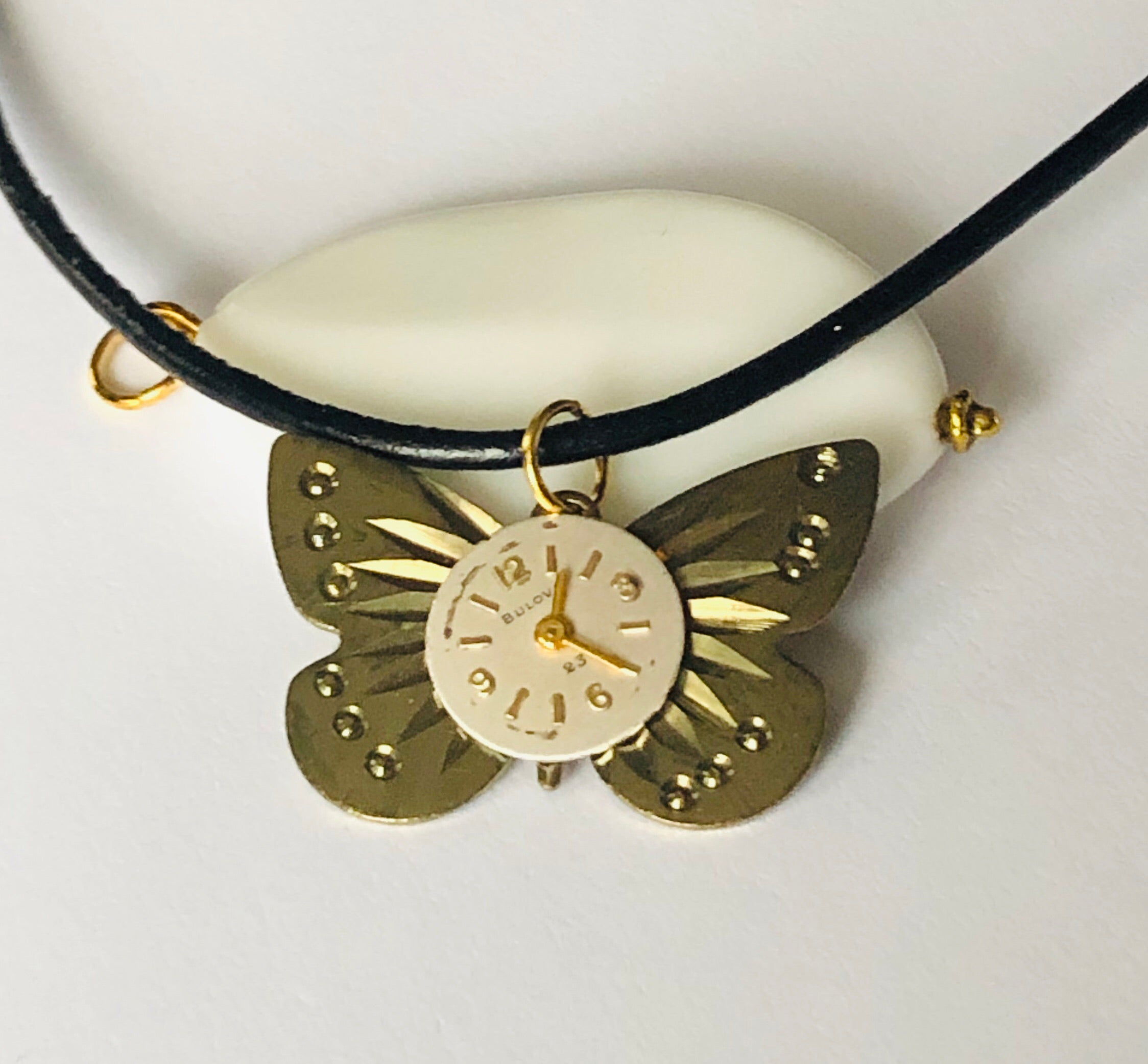 Fly Away in Time Necklace