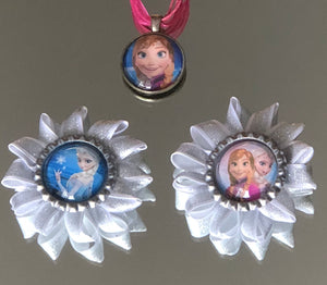 Frozen Bottle Cap HairFlowers