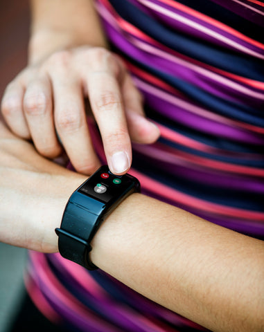 Fitness tracker to track heart rate, sleep, calories etc.