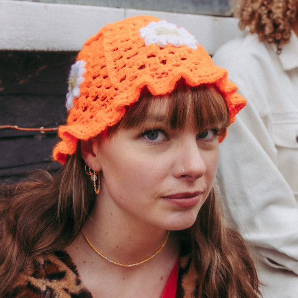 Orange - MeganHMakes - Crochet Hats