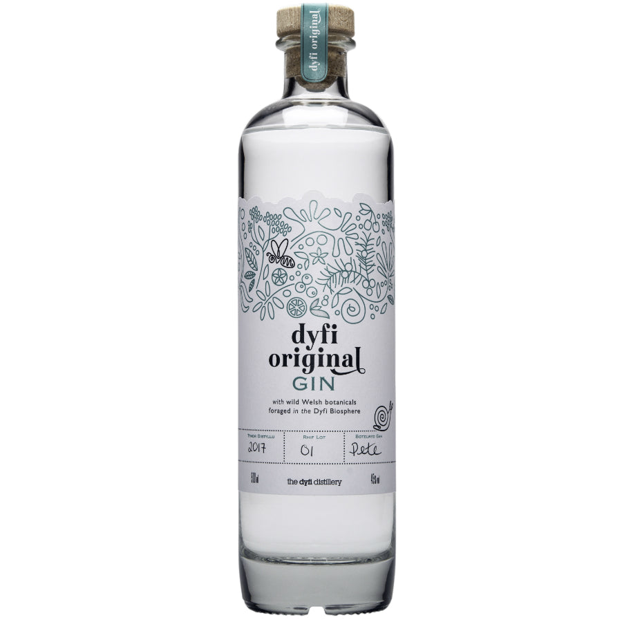 Dyfi Original Gin. A smooth, classic gin.