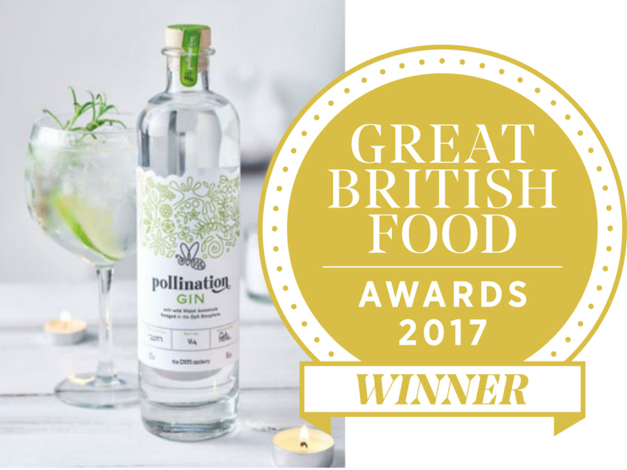 GBF Award Winner, Pollination Gin with G&T