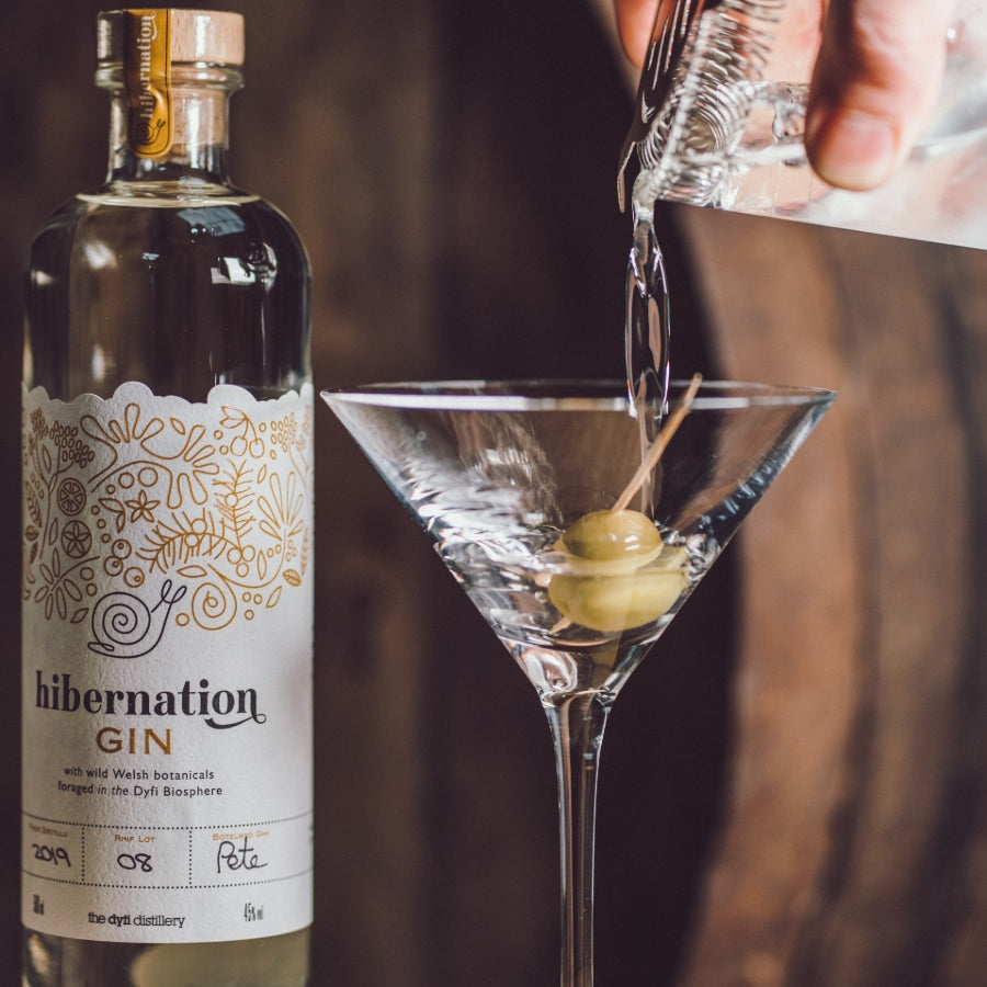 Martini with Barrel-Aged Hibernation Gin