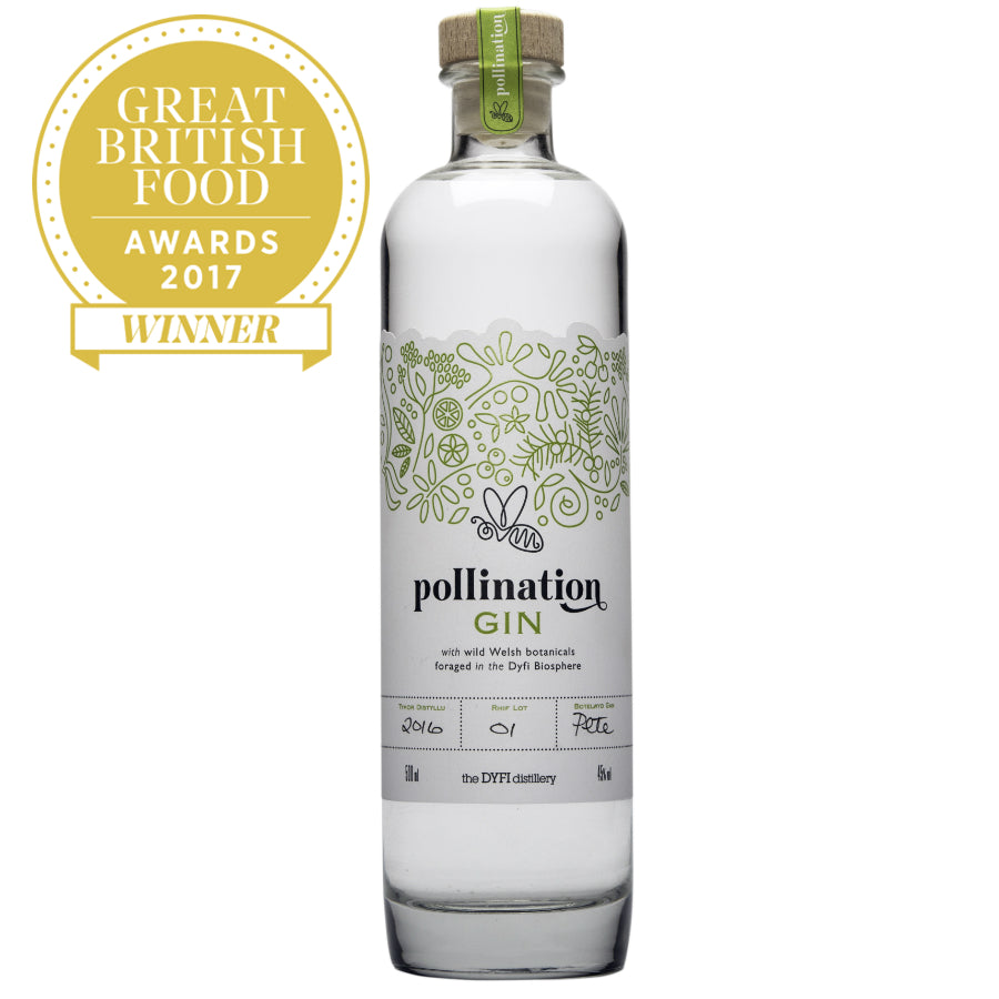 Pollination Gin, Best Gin, Great British Food Awards 2017