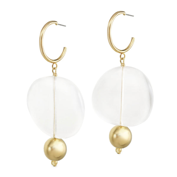 Aura Hoops - Gold
