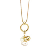Bouquet Pendant - Gold