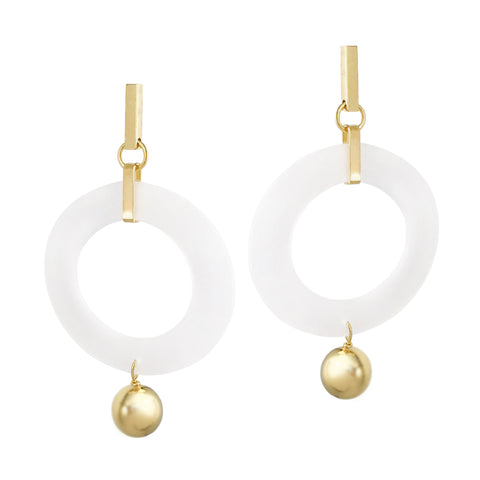 Celebrity Hoops - Gold / Fog