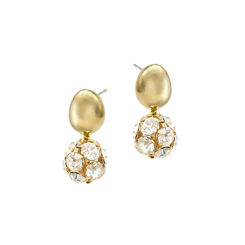 Crystalline Studs - Gold