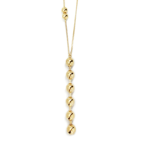 Dotchain Pendant Necklace - Gold