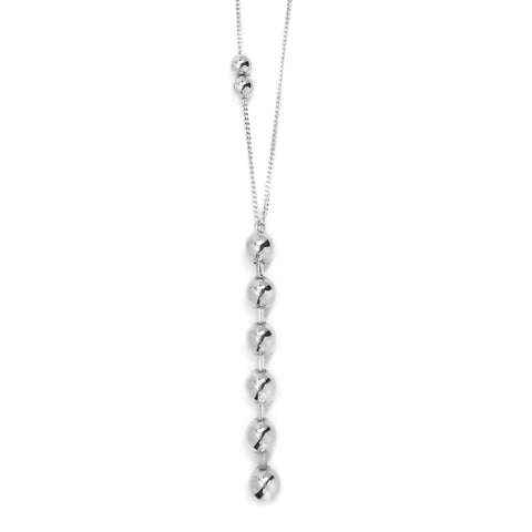 Dotchain Pendant Necklace - Silver