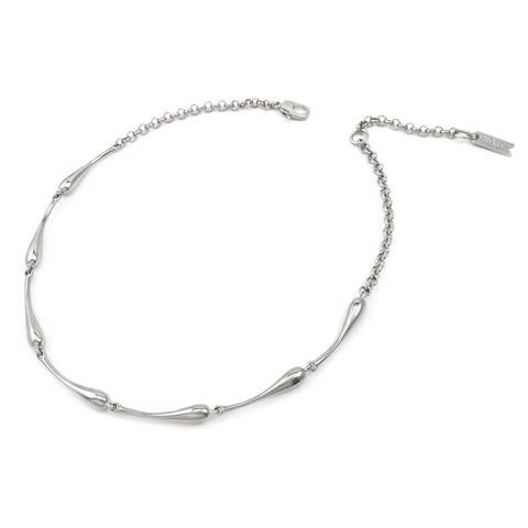 Droplet Collar - Silver