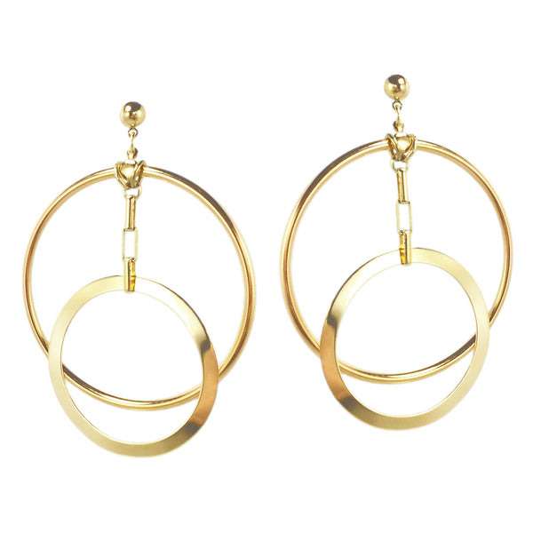 Eclipse Hoops - Gold