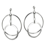 Eclipse Hoops - Silver