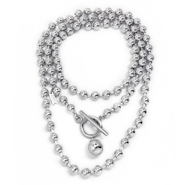 Endless Dotchain Necklace - Silver