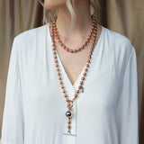 Endless Dotchain Necklace - Rose Gold / Silver