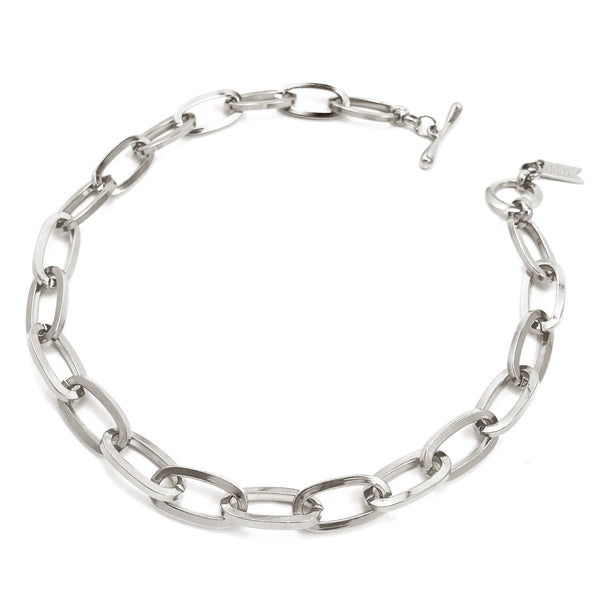 Essential Chainlink Collar - Silver