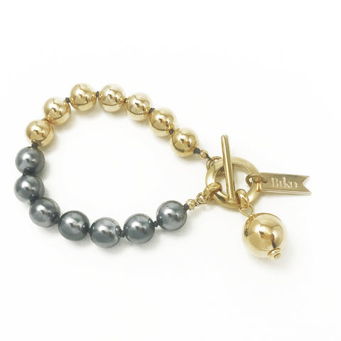 Everyday Bracelet - Gold / Charcoal