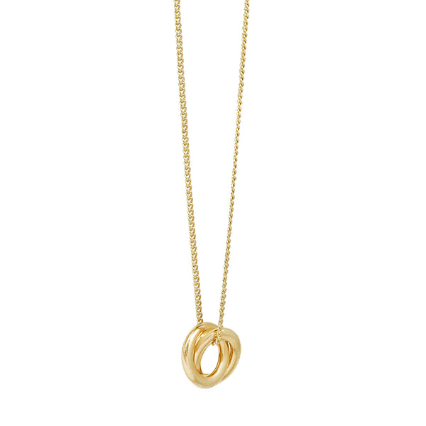 Forget Me Knot Pendant - Gold