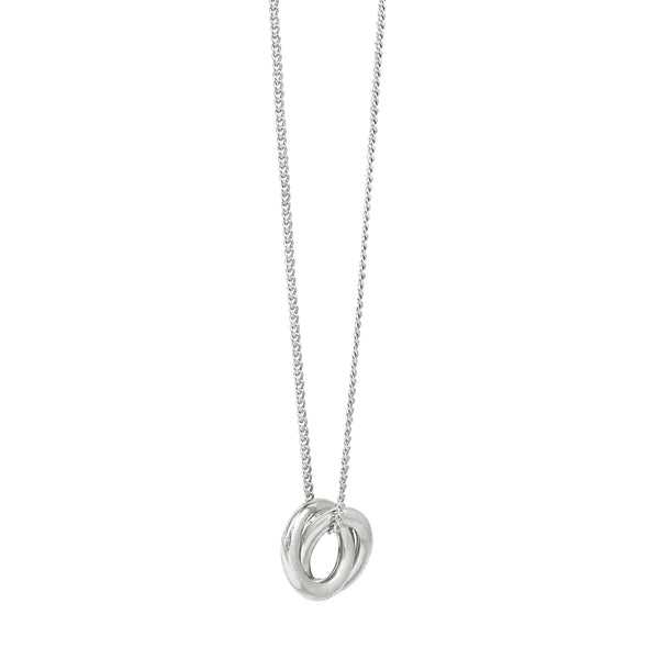 Forget Me Knot Pendant - Silver