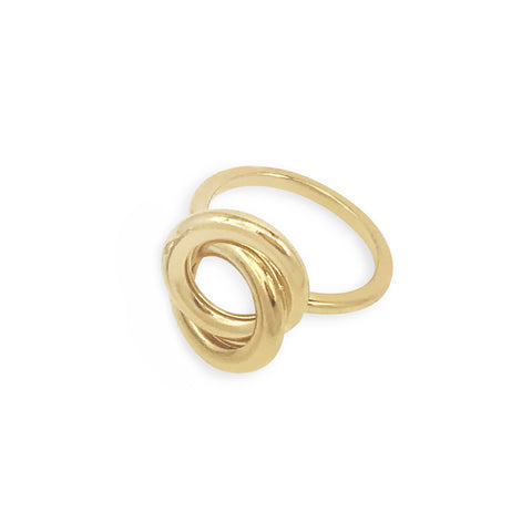 Forget Me Knot Ring - Gold