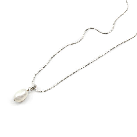 Freshwater Pendant - Silver