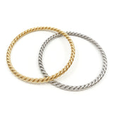 Helix Bangle - Gold