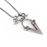 Kai V Necklace - Silver