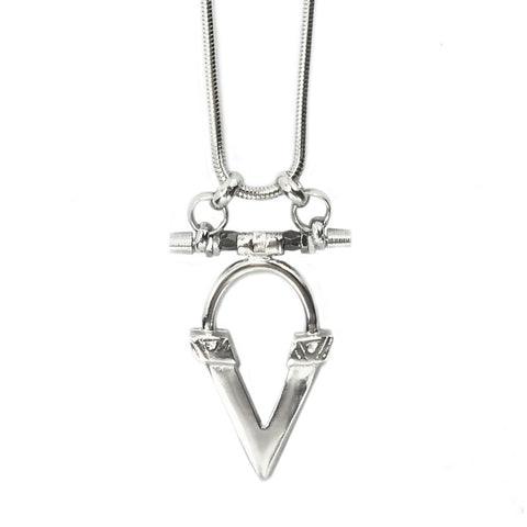 Kai V Necklace - Luxe Silver