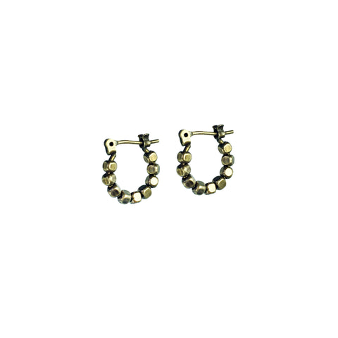 Mini Kobi Loops - Oxidized Brass