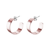 Liberty Hoops - Rose Gold