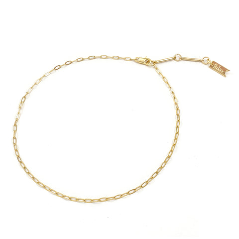Mini Chainlink Collar - Gold