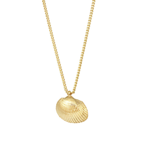 Mini Shell Pendant - Gold