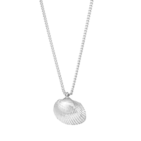 Mini Shell Pendant - Silver