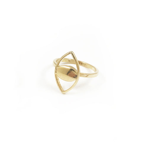 Mini Spy Ring - Gold