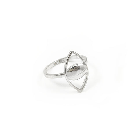 Mini Spy Ring - Silver