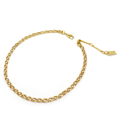Mini Twin Flame Collar - Gold