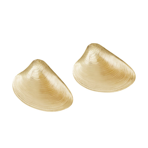 Mollusk Studs - Gold