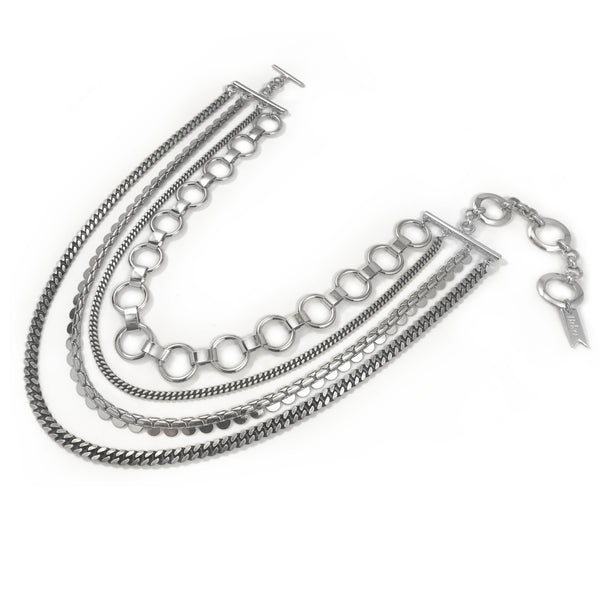 Quartet Collar - Silver
