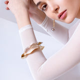 Ripple Bangle - Gold