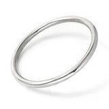Solid State Bangle - Silver