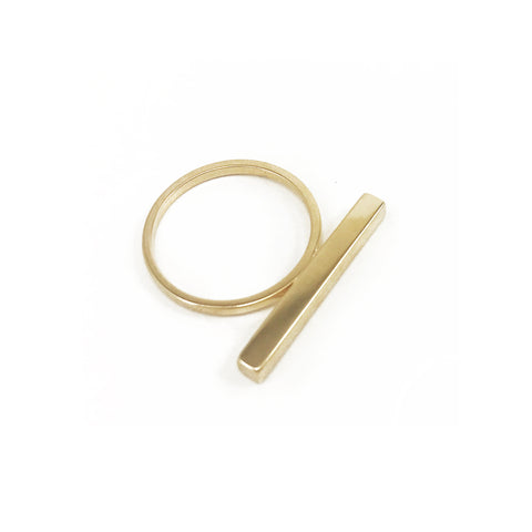 Stick Ring - Gold