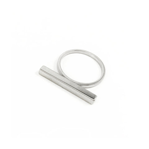 Stick Ring - Silver