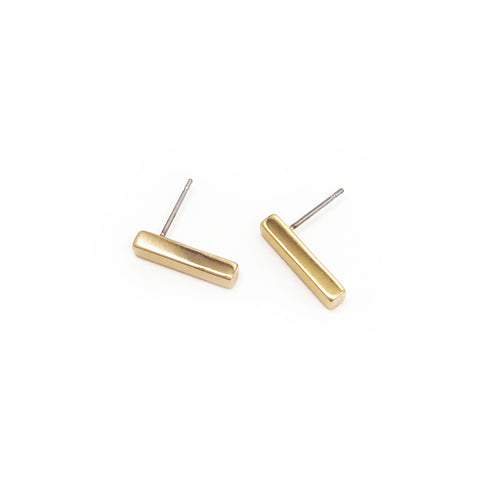 Mini Stick Studs - Gold