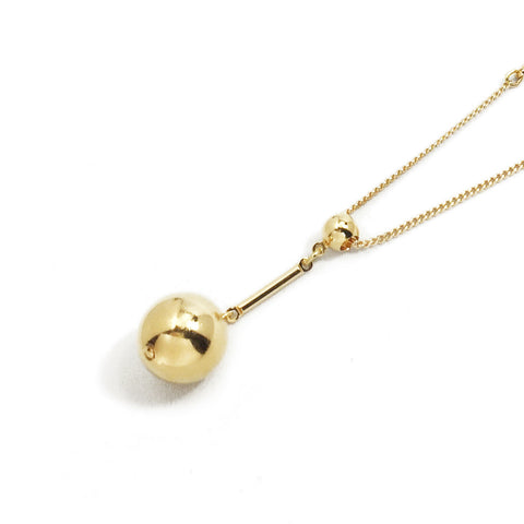 Tempo Pendant Necklace - Gold