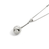 Tempo Pendant Necklace - Silver